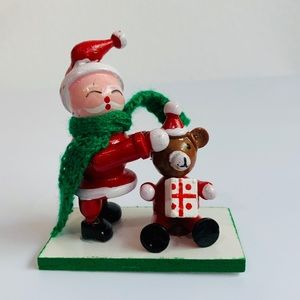 Vintage Wood Christmas Decoration